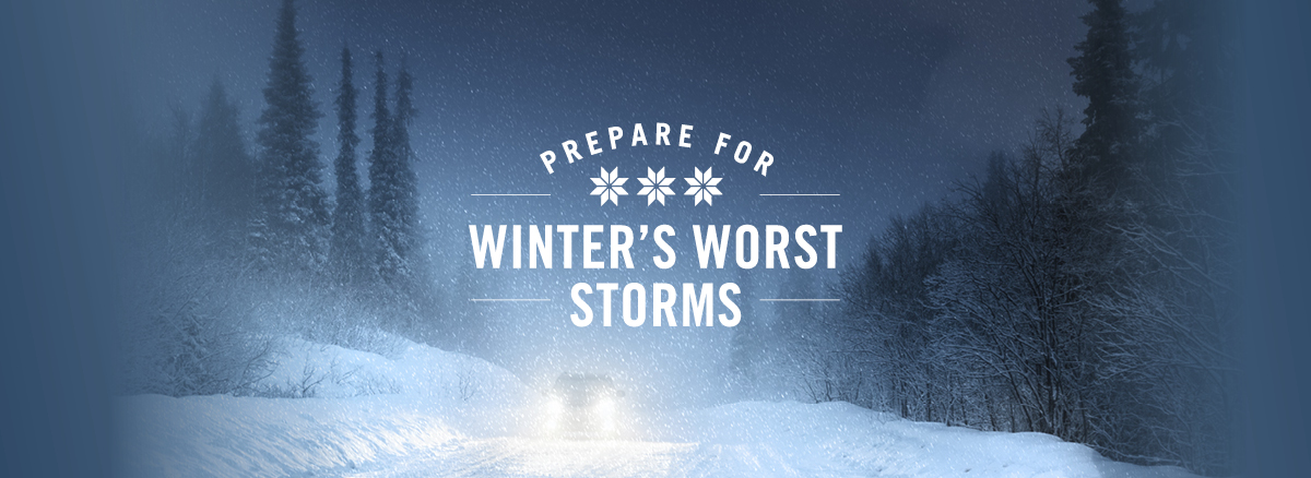 how to prepare for bad winter storms