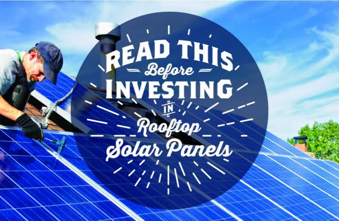 Before Investing in Rooftop Solar