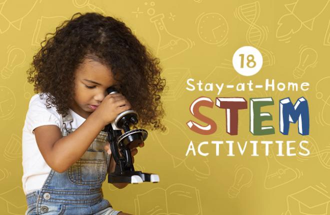 Stay at Home STEM Activity Sites for Kids