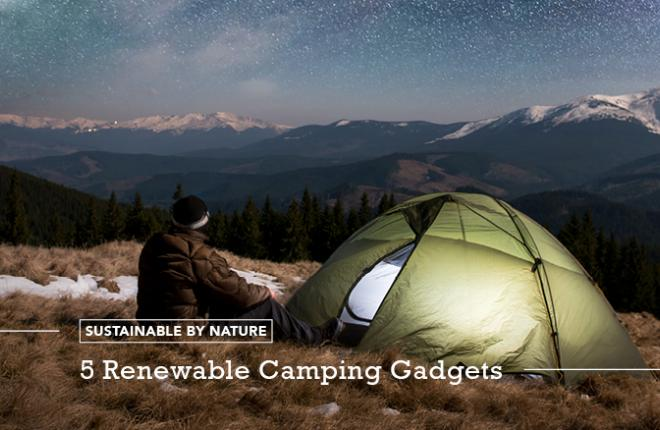 Renewable Energy Solar Camping Gadgets