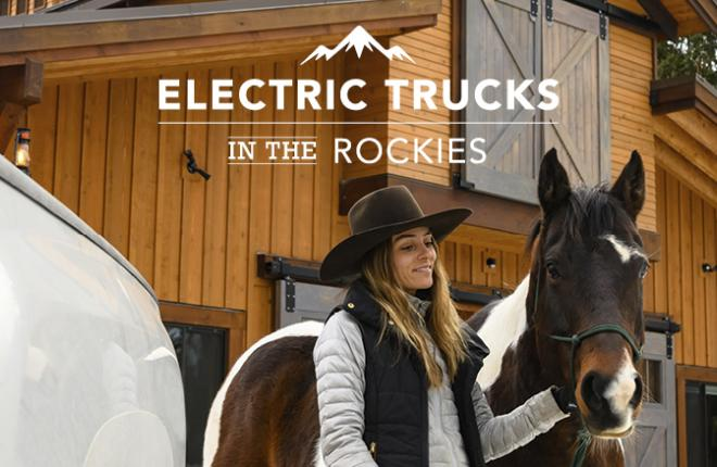Electric Trucks for The Rocky Mountains