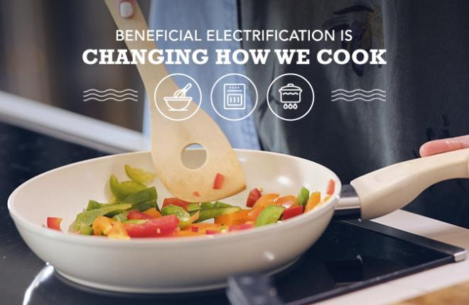 Beneficial Electrification Changing How we Cook