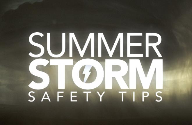summer storm safety tips in Colorado