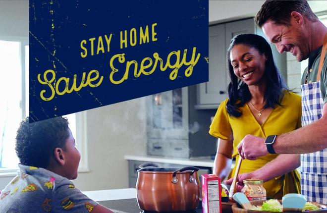 Stay at Home Energy Saving Tips