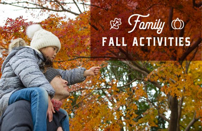 Fall family activities close to home