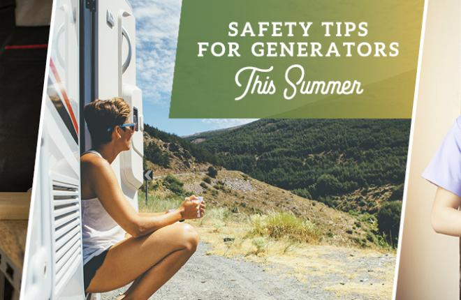 Electric generator safety tips