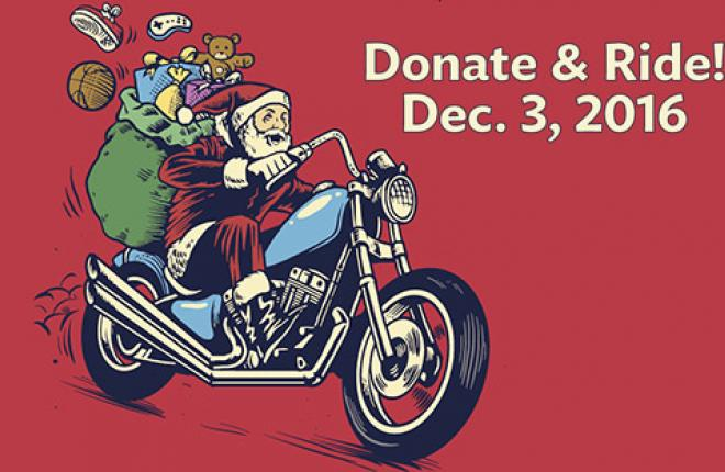 Montrose Holiday Toy Run 2016