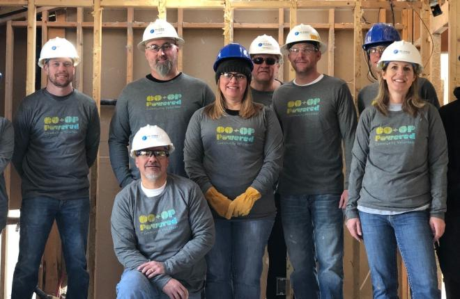 Tri-State Volunteers Team Up With Houses For Warriors to Rebuild a Local Veteran's Damaged House